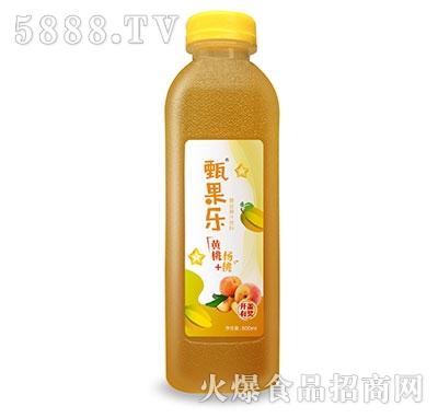甄果乐黄桃杨桃复合果汁500ml
