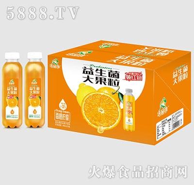 沃品佳香橙柠檬益生菌果汁488mlx15