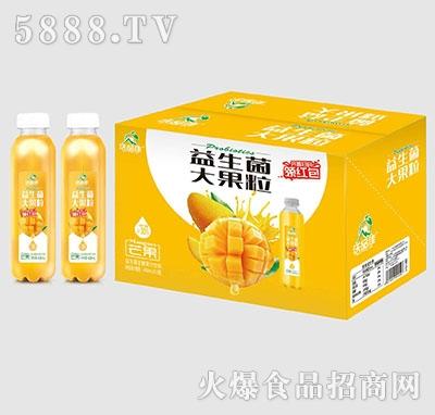沃品佳芒果益生菌大果粒果汁488mlx15