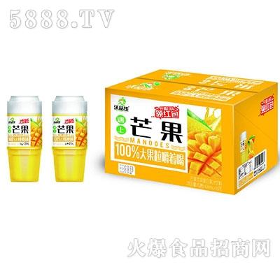 沃品佳芒果苹果益生菌杯装果汁439mlx15