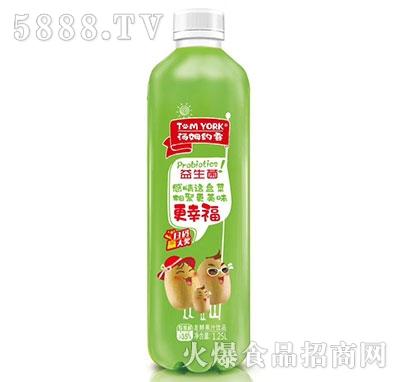 汤姆约客猕猴桃益生菌果汁1.25L