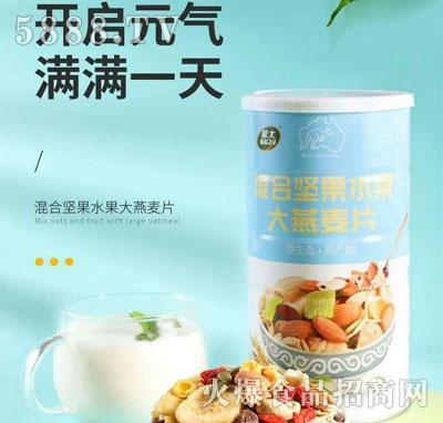 帮太混合坚果水果大燕麦片