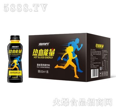 海豹兵热血能量果味营养素饮料600mlX15