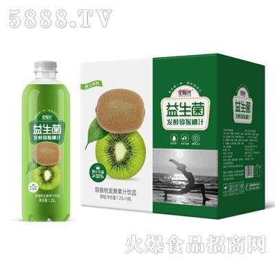 星阳光益生菌发酵猕猴桃汁1.25LX6