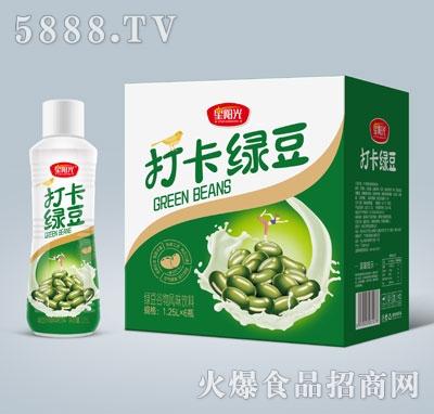 星阳光打卡绿豆绿豆谷物风味饮料1.25LX6