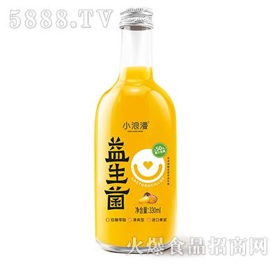 小浪漫益生菌果汁饮料330ml产品图