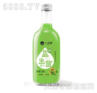 小浪漫猕猴桃益生菌果汁饮品330ml产品图