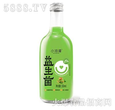 小浪漫猕猴桃益生菌果汁饮料330ml产品图