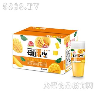 蜜沁源每日果燃芒果汁饮料450mlx15瓶