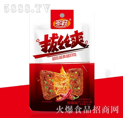多旺拔丝爽大豆蛋白制品劲辣味26g
