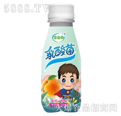 合益优乳酸菌黄桃+椰果310ml