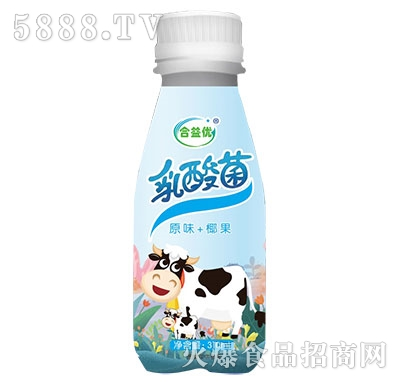 合益优乳酸菌原味+椰果310ml