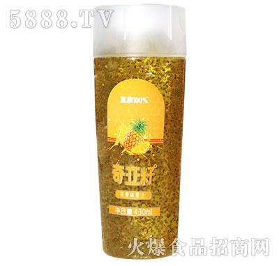 宜泉奇亚籽菠萝味果汁430ml
