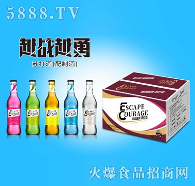越战越勇苏打酒300mlX24