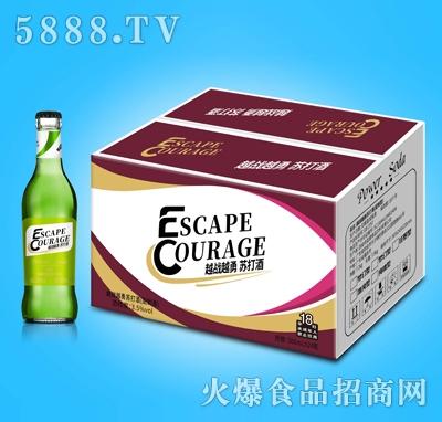 越战越勇苏打酒清纯型300mlX24