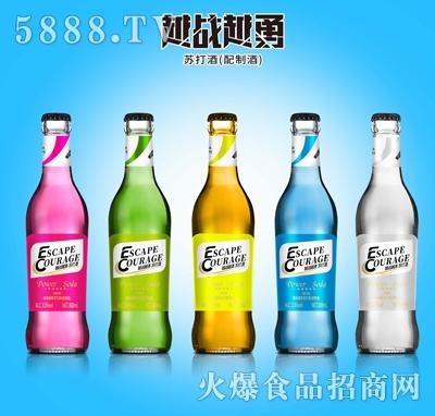 越战越勇苏打酒300ml