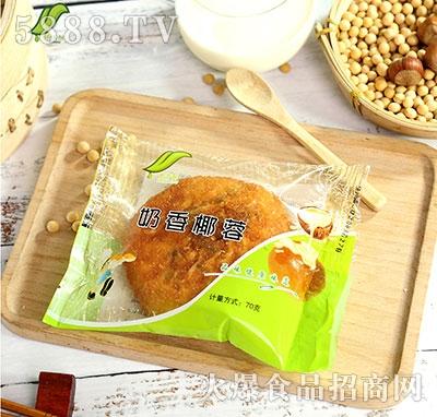 食舌酥奶香椰蓉面包70g