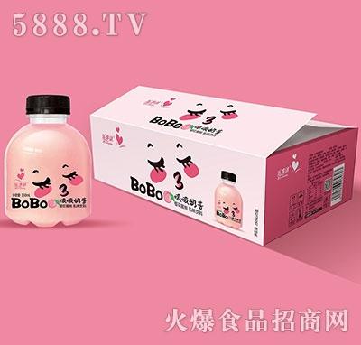 啵啵奶昔樱花蜜桃350mlx15
