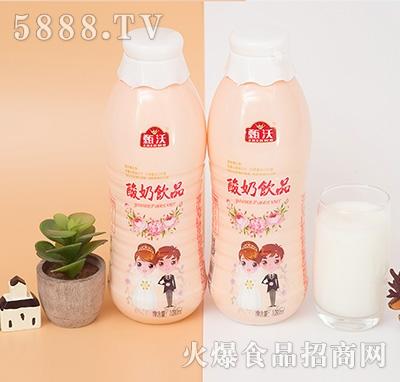 甄沃酸奶饮品1.08L