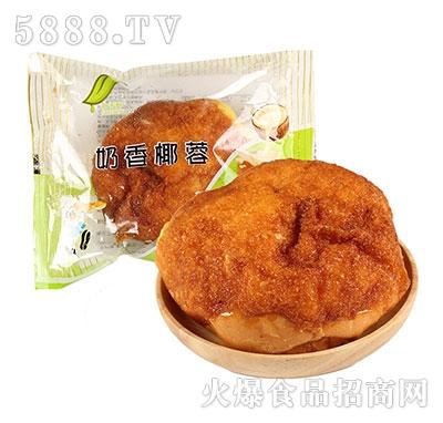 食舌酥奶香椰蓉面包
