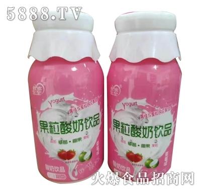 菌悦果粒酸奶饮品350ml(瓶装)