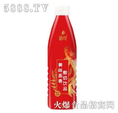菌悦黄桃燕麦酸奶饮品1000ml