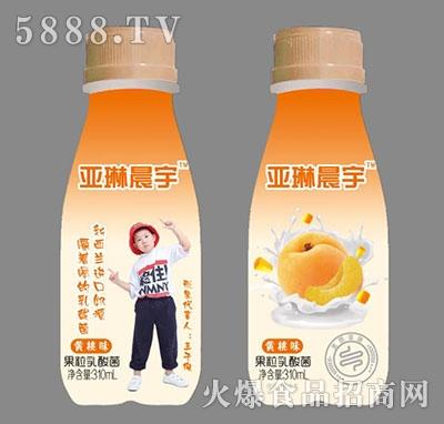 亚琳晨宇果粒酸奶黄桃味310ml产品图