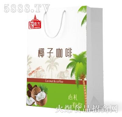 智南方椰汁咖啡植物蛋白饮料(袋)