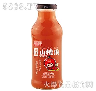 亿佳果园益生菌发酵山楂汁300ml
