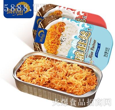 饭香思瑶柱丝即食海鲜罐头60g产品图