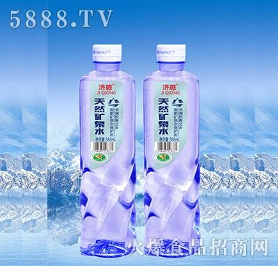 济琼天然矿泉水580ml产品图