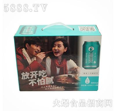 莲爽荷叶茶饮料310mlx12罐