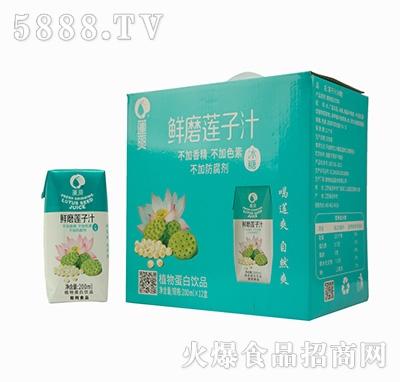莲爽莲子汁200mlx12盒