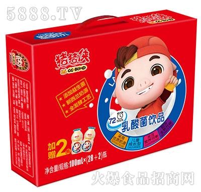 猪猪侠乳酸菌饮品100mlx30瓶