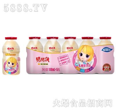 猪猪侠乳酸菌饮品草莓味100mlx5瓶