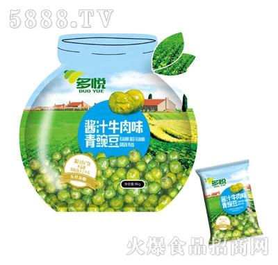多悦酱汁牛肉味青豌豆86g产品图