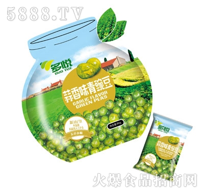 多悦蒜香味青豌豆86g产品图