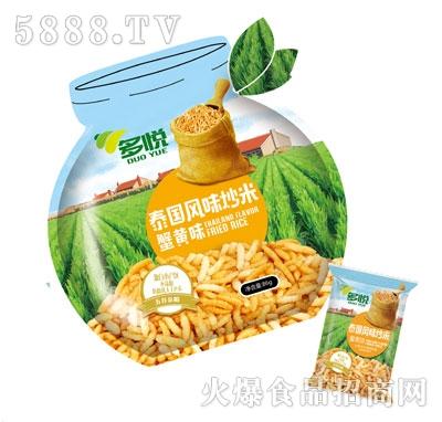 多悦泰国风味炒米蟹黄味86g产品图