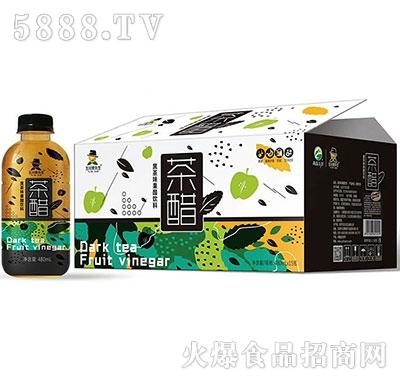 玉川果先生茶醋黑茶480mlx15