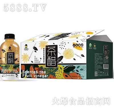 玉川果先生茶醋野菊花480mlx15