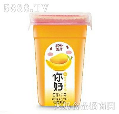 我爱焦汁香蕉+芒果复合果汁饮料330ML