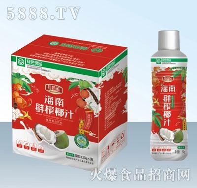 芭芭乐海南鲜榨椰汁1.25kgX6