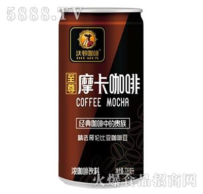 沃顿摩卡咖啡饮料228ml