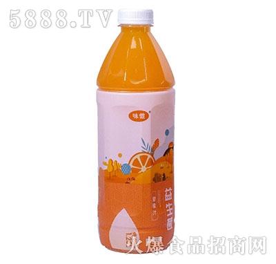 味傲益生菌甜橙汁果汁饮料1.25L