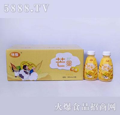 味傲芒果奶昔风味饮品380ml×15瓶