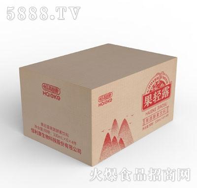 果轻露果蔬酵素饮料330mlX6X4