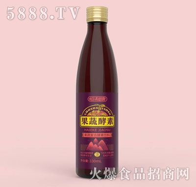 果轻露果蔬酵素饮料330ml