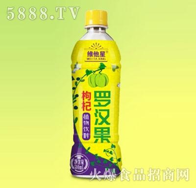维他星罗汉果枸杞植物饮料500ml