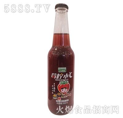 亿佳果园草莓柠檬复合果汁330ml