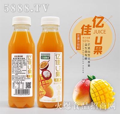 亿佳U果复合芒果汁380ml